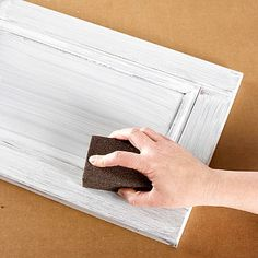 How to Paint Cabinets or Furniture using Liquid Sandpaper.  Never heard of it???