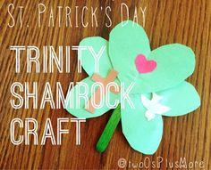 St. Patrick's Day Trinity Shamrock Craft