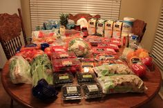 This Week's $130 Grocery Shopping Trip & Menu Plan for 5