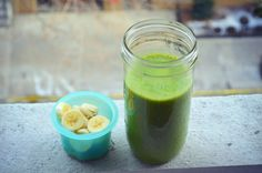 Silky Green Tofu Smoothie + Cuppow Giveaway