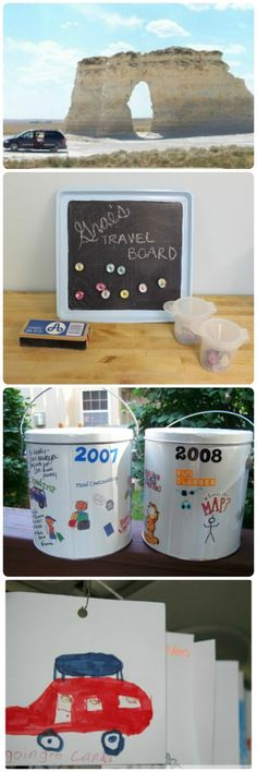 Fun ideas for keeping the kids engaged and learning on road trips this summer!