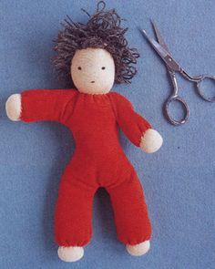 Handmade Doll by Martha Stewart #Doll #Martha_Stewart