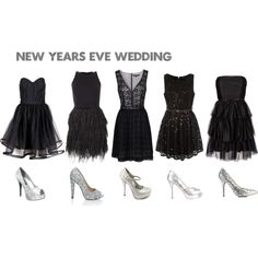 love this idea for a NYE wedding!