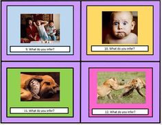 These 32 Inferences Using Literature Task Cards by The Teacher Next Door will help your students practice the all important reading skill of making inferences.   The task cards are filled with high interest pictures of animals and people. Students are asked to look for clues in the pictures to make inferences. This is a great way to practice making inferences before diving into the text.