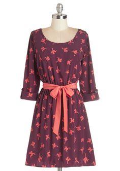 Southwestern Story Dress in Birds $54.99