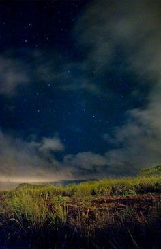 the stars at night...