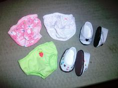 discovered how to make fun panties and shoes!