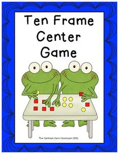 Ten Frame Center Game