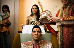 Indian groom on IndianWeddingSite.com