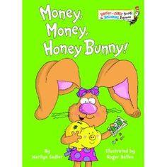 "Activities to go along with ""Money, Money, Honey Bunny"" by Marilyn Sadler honey bunni, money honey, sadler, earli booksr, children literatur, read, children books, money book, money storytim"