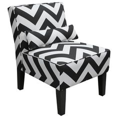 I pinned this Zigzag Accent Chair from the studio ten 25 event at Joss and Main!