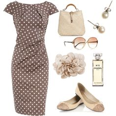 Classic dots, created by babbel25.polyvore.com