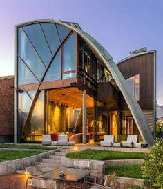 John Lautner's Stevens' House Malibu, California