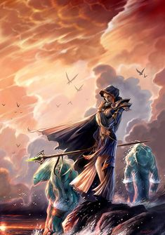 Fantasy Artwork by Jian Guo   Cuded