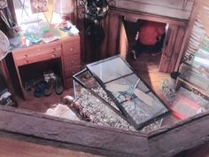 """Mark's bedroom from the """"Cheaper By The Dozen"""" Movie House"""