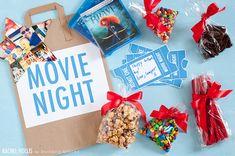 DIY Family Movie Night Kit