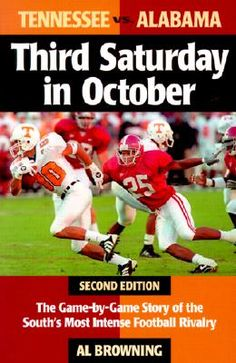 Third Saturday In October. Can't wait! #Bama #Vols