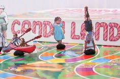 Custom candy land game