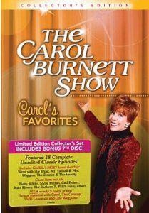 Amazon.com: Carol Burnett: Carol's Favorites Limited Edition (7 DVD Collection): Carol Burnett, Vicki Lawrence, Tim Conway, Harvey Korman: Movies & TV