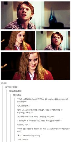 Ron and Hermione Baby :)