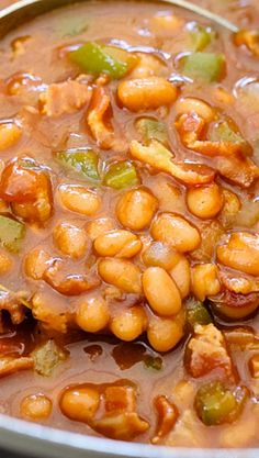 The Best BBQ Baked Beans