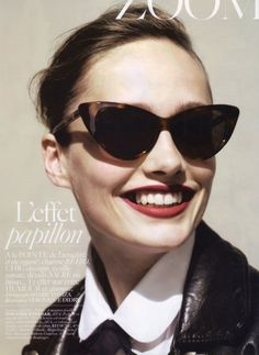 fashion, style, cat eyes, vogue paris, papillon, tom ford, shade, sunglasses, ford nikita