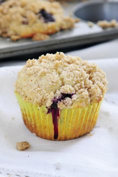 Gluten Free Blueberry Streusel Muffins | Simply Gourmet