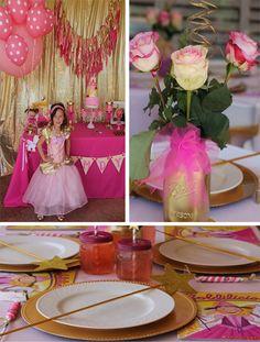 Goldilicious Pinkalicious Birthday Party with Lots of Ideas via Kara's Party Ideas | KarasPartyIdeas.com #goldilicious #pinkalicious #birthday #party #supplies #ideas