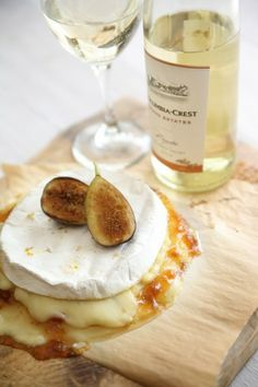 Moscato, Brie, And Figs