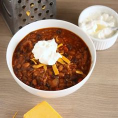 Crockpot Chipotle Chili