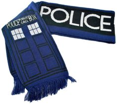 Doctor Who: TARDIS Scarf