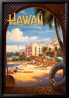 Hawaii became the 50th state on August 21, 1959