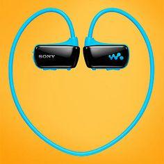 The Sony W Series Sports Walkman headphones--so cool1