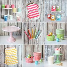 party themes/supplies