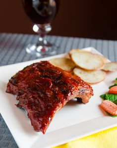 Sweet BBQ Ribs on the Grill