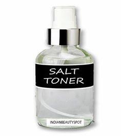 Salt Toner for Oil and Dry skin - ♥ IndianBeautySpot.Com ♥