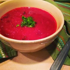 Gluten Free Borscht - A delicious Beet & Cabbage Soup to warm you up!