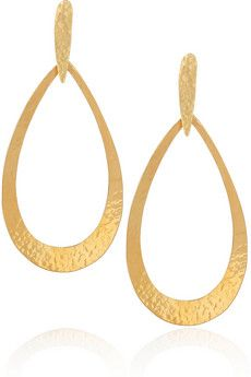 Hervé Van Der Straeten, 24 Karat Gold plated Earrings