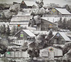 The 8 original Barn Quilts of Plumas County, California..Come visit to see these and more!