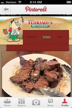 Best steak tips Floramo's in Chelsea, MA