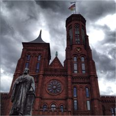 Old Smithsonian museum building