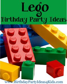 Lego themed birthday party ideas.  Great party ideas, party games, activities, icebreaker games, party food and more.