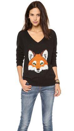 Fox Trot Sweater