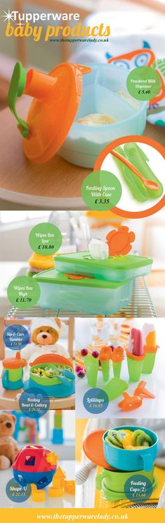 Tupperware baby products