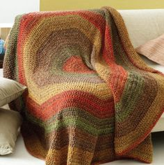 Circle afghan (free) pattern, Just lovely.