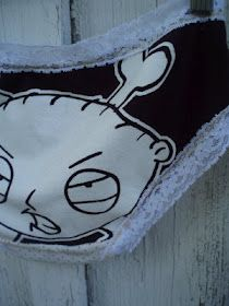 heh! How to turn old t-shirt into underwear. Not sure I would ever, but it's amusing.