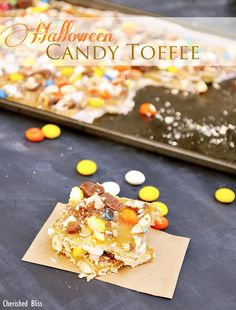 Halloween Recipes: Halloween Toffee Recipe