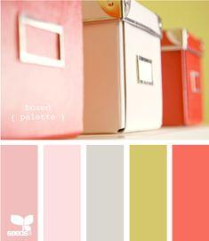 pretty pastel colors