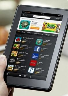kindle fire apps vs kindle touch apps
