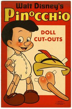 Pinocchio's got his nose ... so whats that other thing ?